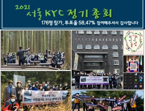 2021 서울KYC 정기총회 결과 공고